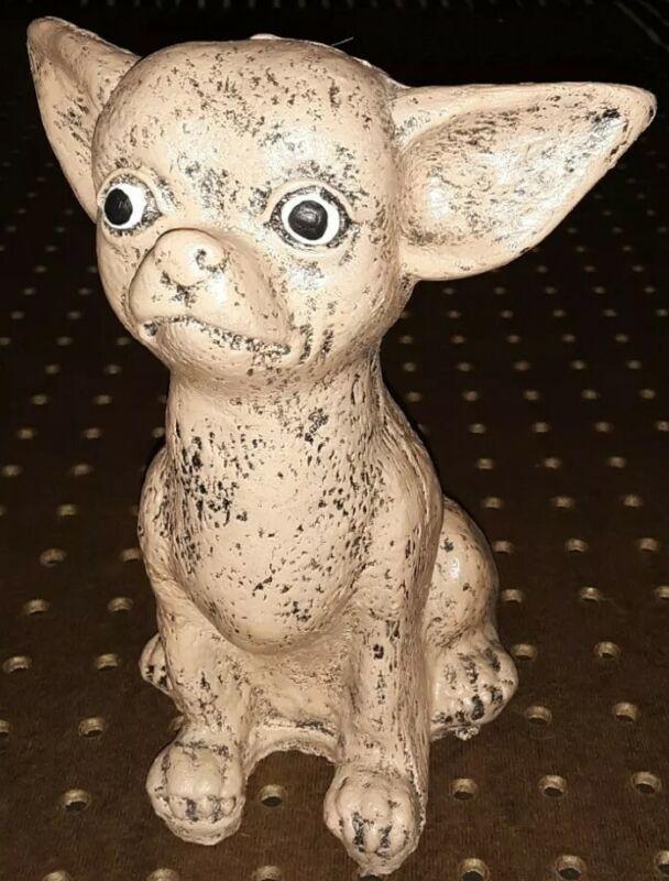 "Chihuahua 7"" Stone Statue"