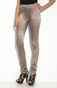 Ilaria Nistri Stretch Silk Leggings (Size 46)