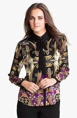 Vince Camuto Ornate Paisley Blouse (Size XS)
