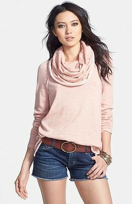 NWT Free People Cowl Neck Sweater Medium Large M L