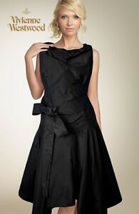 Vivienne-Westwood-ANGLOMANIA-blue-taffeta-dress-size-M-40-NEW