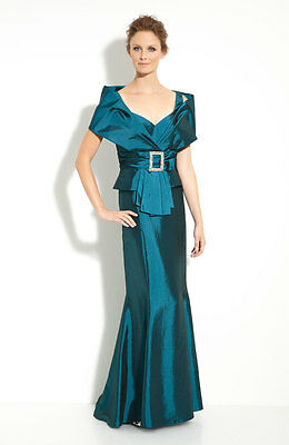 Daymor Taffeta Jacket with Trumpet Skirt (size 4) ++