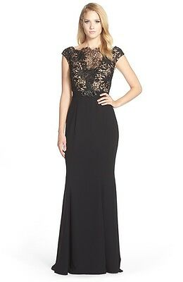 Terani Couture Lace Bodice Gown (size 14)