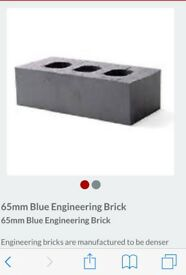 Blue engineering bricks