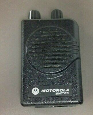 Motorola Minitor 5 Pager Only Model A03kms9239bc Vhf 2 Ch Sv Programming