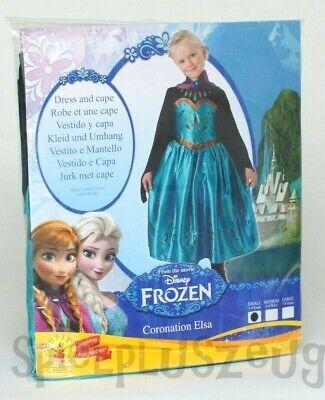 Disney Frozen Die Eiskönigin Anna Kostüm Kleid Karneval Fasching 3-4 Jahre NEU ()
