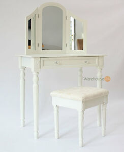 Mayfair Bedroom Dressing Table With Mirror And Stool