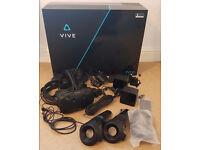HTC Vive, Complete, Excellent Condition