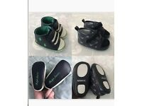 2x Designer Baby Shoes infant 2.5
