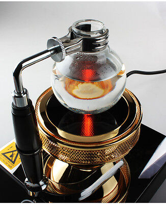 - 220V Halogen Beam Heater For Hario Yama Syphon Coffee Maker Burner Roaster