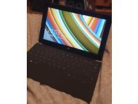 Microsoft surface 2 64gd tablet with keyboard