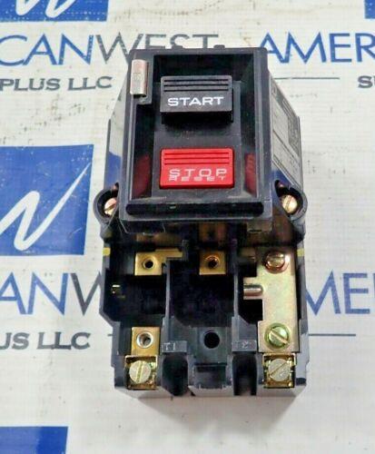 Square D 2510MBG1 Manual Motor Starter 600V Max NEMA M-0