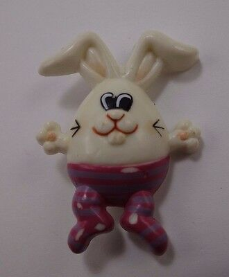 Easter Bunny Rabbit Buck Teeth Easter Pin Russ  ](Bunny Teeth Halloween)