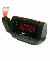Naxa NRC173 Projection Dual Alarm Clock Radio