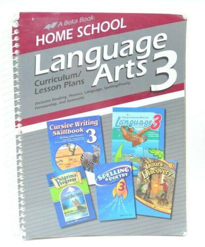 Abeka Homeschool Language Arts 3 Curriculum & Lesson Plans 10484105