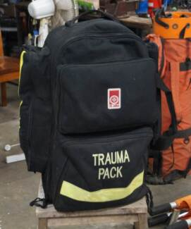 Back Pack - first aid / paramedic kit - pack only. Burpengary Caboolture Area Preview