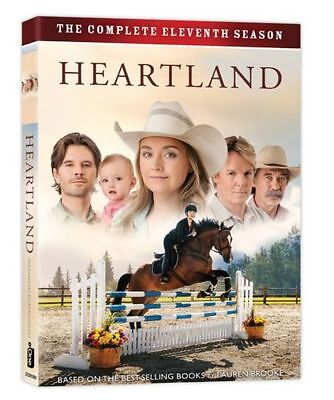 Heartland Season (11) Region 1, North America DVD Boxed Set, 5-Discs, Pre-Order