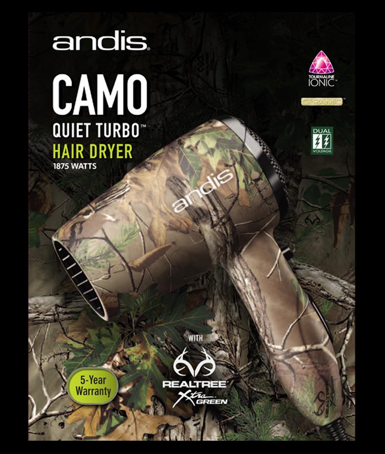 CT4 Camo QuietTurbo HairDryer