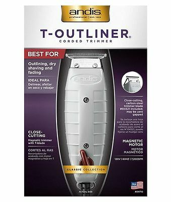 Andis T-Outliner 04710 Trimmer Barber Hair cut Salon, Brand new