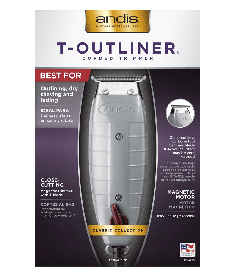 ANDIS T-OUTLINER TRIM 04710 Professional Barber Salon Hair C