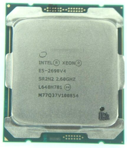 Intel Xeon E5-2690 v4 2.60GHz 14-Core SR2N2 (CM8066002030908) Processor w/Grease