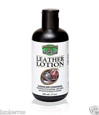 Boot Shoe & LEATHER LOTION Creamy Cleaner CONDITIONer Moneysworth and Best