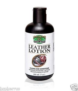 boot shoe leather lotion conditioner cleaner