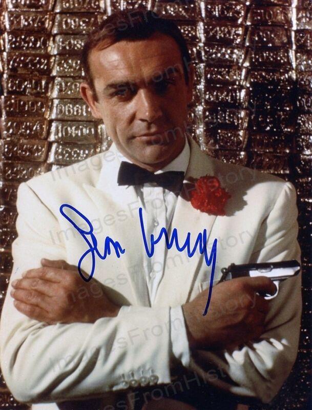 8x10 Print Sean Connery Goldfinger 1964 #SCJB