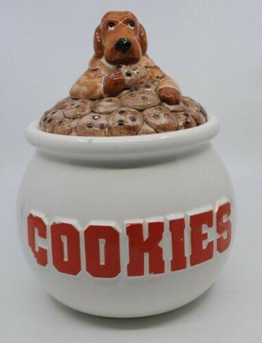 Vtg Sigma Mcgruff Crime Dog Take a Bite out of Crime Cookie Jar 1983