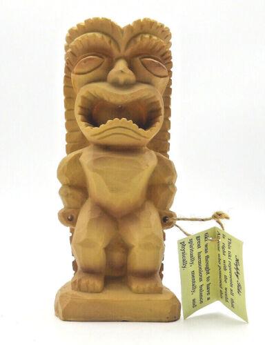 HAPPY TIKI GOD Polynesia Collection  New with tag Tiki Bar Office Tiki Butt