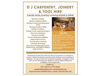 Carpenter / Joiner available