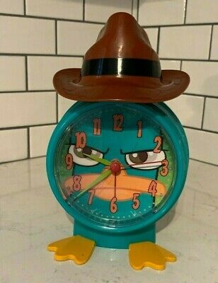 Perry The Platypus Disney Alarm Clock Radio Kids Alarm Clock Phineas And Ferb