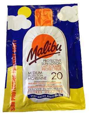 Malibu Sonnencreme Päckchen Lsf 20 Medium Schutz Wasserfest 15ml