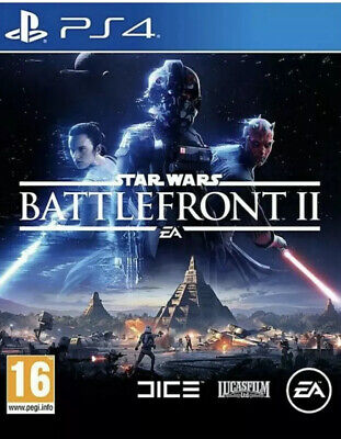 Star Wars Battlefront 2 PS4 ☆☆FAST & FREE DELIVERY☆☆ Brand New & Sealed Nordic