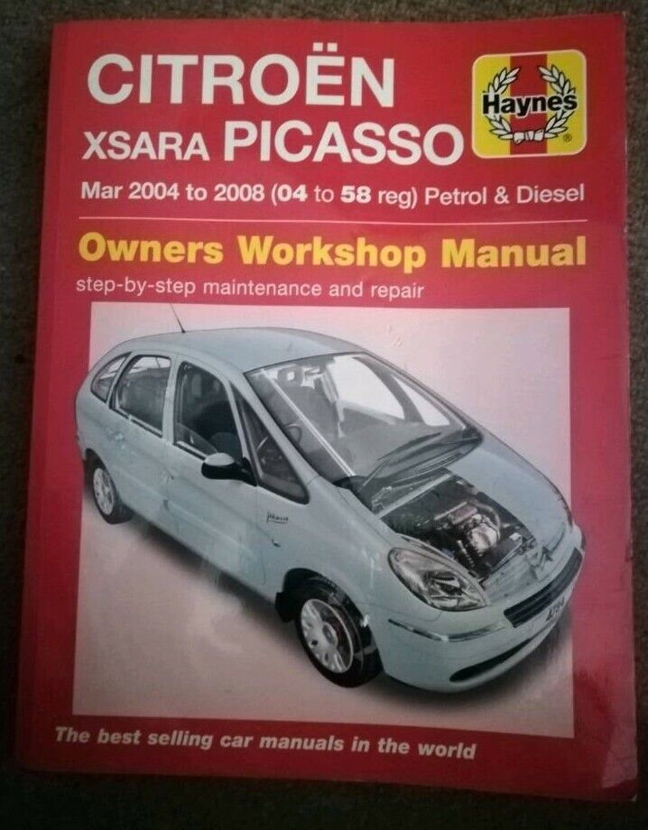 repair manual xsara pico on