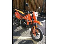Pulse XF 125 GY-2B Adrenaline Year 2014 Orange Motorcycle