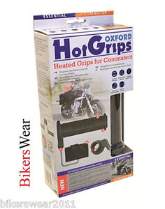 Oxford Essential Commuter Heated Hot Grips Motorcycle Grips NEW