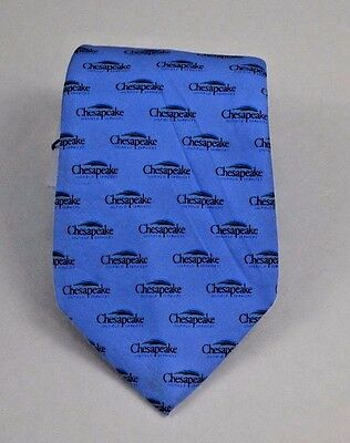 Blue Vineyard Vines Necktie W Chesapeake Energy Logo  Nwt