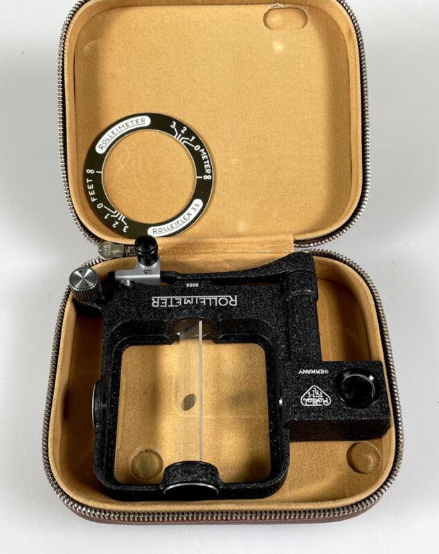 Rollei Rolleiflex Rolleimeter 2.8 Rangefinder Focusing Unit w/ Case