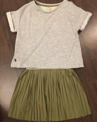 bellerose girls dress size 6 EUC