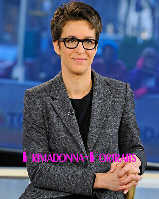Rachel Maddow 8X10 Lab Photo 10S News Anchor Journalist Portrait