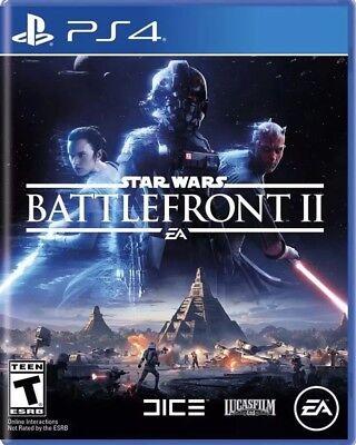 Star Wars: Battlefront 2 PlayStation 4 PS4 Games Brand New Video Game Sealed