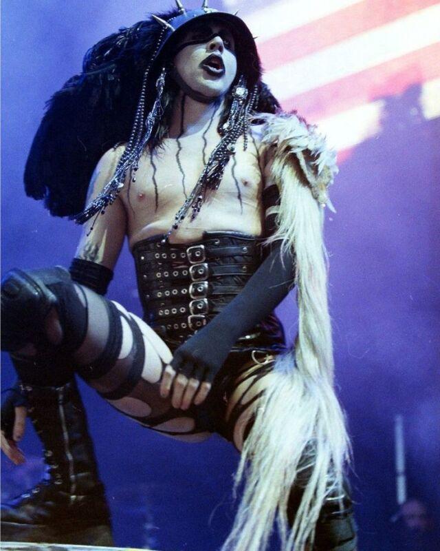 Marilyn Manson Dark  8x10 Photo Print