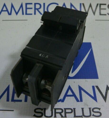 Square D 2 Pole 40 Amp 120/240V Type XO Circuit Breaker Cat: XO240