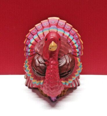 Merry Miniature Hallmark TURKEY Thanksgiving Figurine