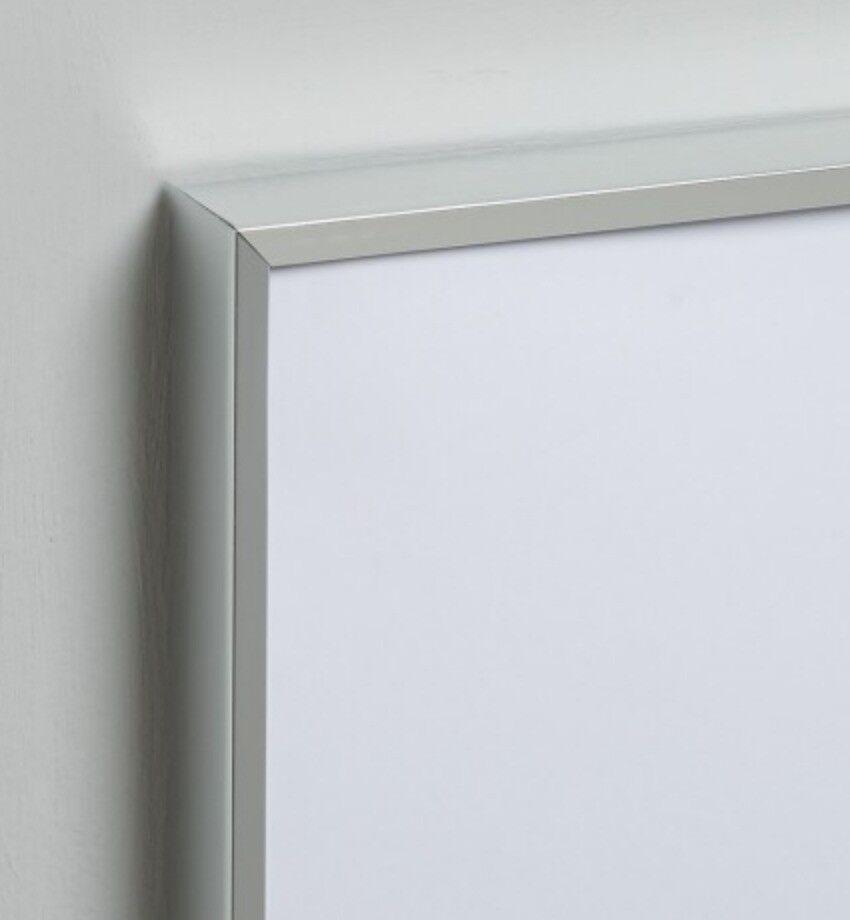 habitat silver metal picture frame | in Kensington, London | Gumtree