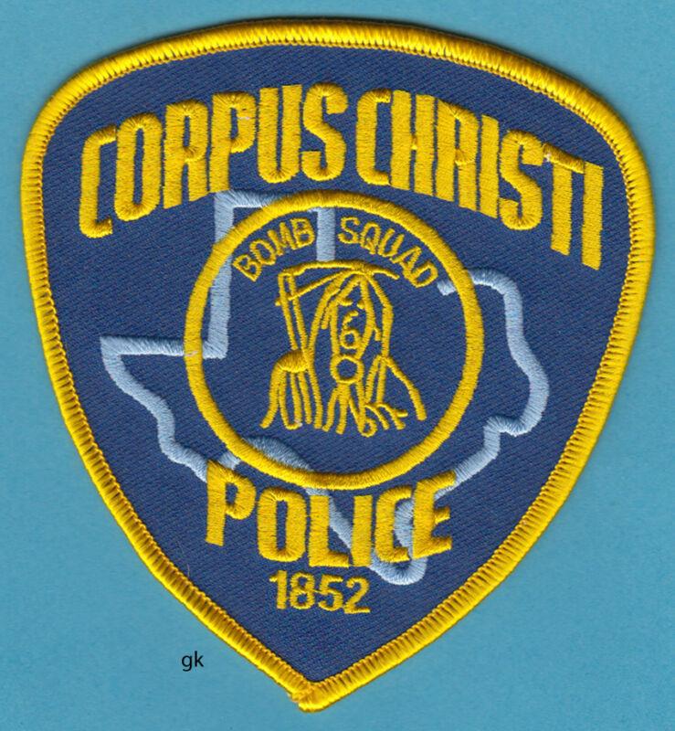 CORPUS CHRISTI TEXAS POLICE BOMB SQUAD SHOULDER PATCH