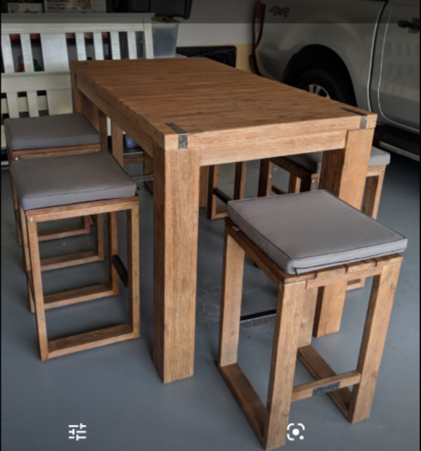 outdoor bar table with stools  stools  bar stools