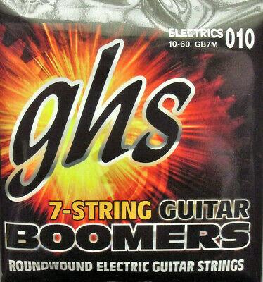 GHS GB7M Boomers Cuerdas de Guitarra Eléctrica 7-string 010-060