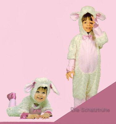 3D Deluxe-PLÜSCH KOSTÜM SCHAF SCHÄFCHEN LAMM LÄMMCHEN Overall - Plüsch Lamm Kostüme